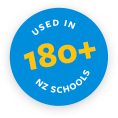 Used in 180+ NZ Schools