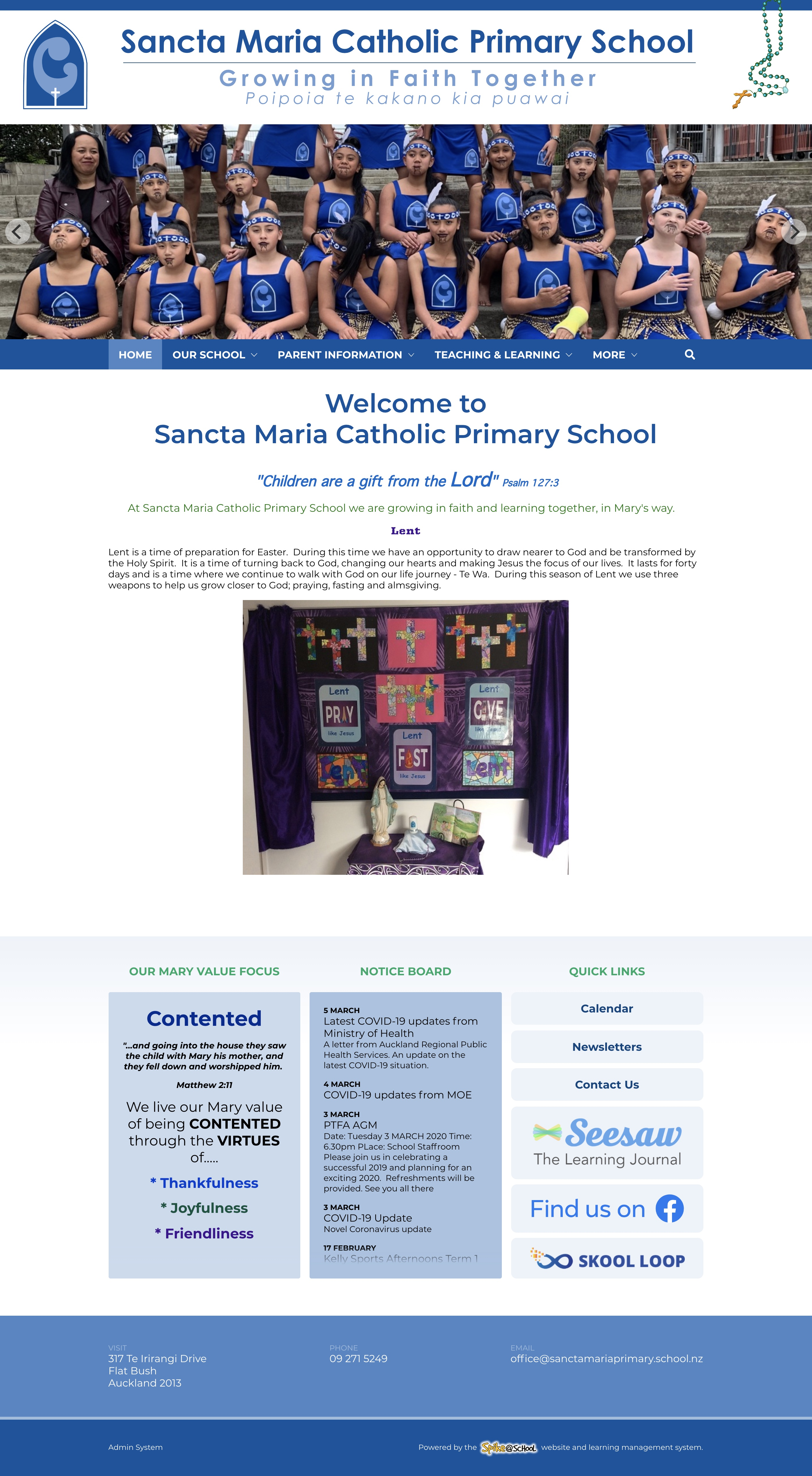 Sancta Maria Catholic Primary School